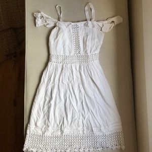 LOFT white summer dress - XSP